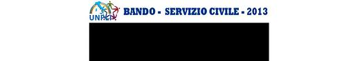SERVIZIO CIVILE 2013